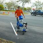 Разметка парковок и стоянок